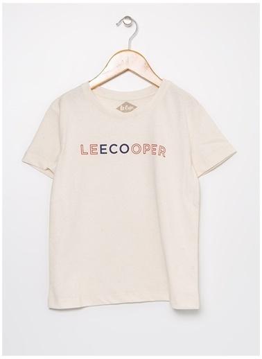 Lee Cooper Tişört Ekru